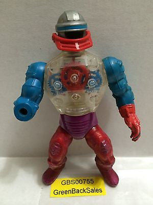 (TAS031253) - Mattel He-Man Masters of the Universe MOTU Figure - Roboto, , Action Figure, MOTU, The Angry Spider Vintage Toys & Collectibles Store