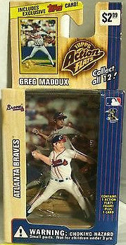 (TAS000225) - 1999 Topps Action Flats - Greg Maddux Atlanta Braves, , Action Figure, Topps, The Angry Spider Vintage Toys & Collectibles Store