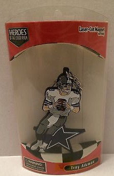 (TAS003450) - Heroes of the Locker Room Laser-Cut Magnet - Troy Aikman, , Magnets, NFL, The Angry Spider Vintage Toys & Collectibles Store