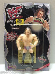 (TAS008171) - WWF WWE WCW Wrestling JusToys Bend-Ems Figure - Val Venis, , Action Figure, Wrestling, The Angry Spider Vintage Toys & Collectibles Store