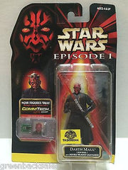 (TAS008344) - Hasbro Star Wars Episode 1 CommTech Chip Figure - Darth Maul, , Action Figure, Star Wars, The Angry Spider Vintage Toys & Collectibles Store