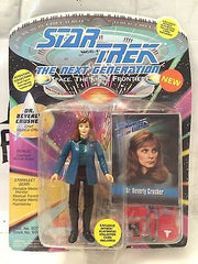 (TAS001151) - Playmates Star Trek The Next Generation - Dr. Beverly Crusher, , Action Figure, Star Trek, The Angry Spider Vintage Toys & Collectibles Store
