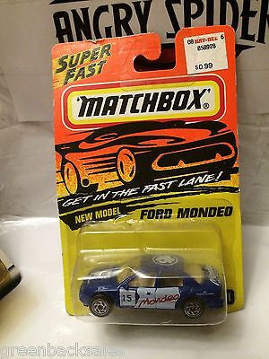 (TAS031517) - Matchbox Toy Car - Ford Mondeo, , Cars, Matchbox, The Angry Spider Vintage Toys & Collectibles Store