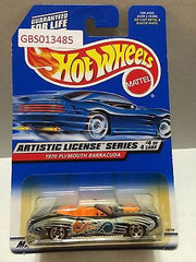 (TAS030953) - Mattel Hot Wheels Car - 1970 Plymouth Barracuda, , Cars, Hot Wheels, The Angry Spider Vintage Toys & Collectibles Store