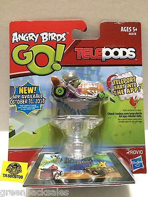 (TAS009709) - Hasbro - Angry Birds GO! Telepods - Teleport Kart into the App, , Action Figure, Angry Birds, The Angry Spider Vintage Toys & Collectibles Store