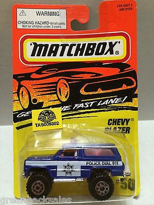 (TAS009302) - Matchbox Cars - Chevy Blazer, , Cars, Matchbox, The Angry Spider Vintage Toys & Collectibles Store