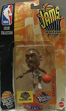 (TAS006745) - 1999 Mattel NBA Jams Mini Figure - Grant Hill, , Action Figure, NBA, The Angry Spider Vintage Toys & Collectibles Store