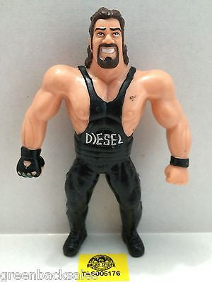 "(TAS005176) - WWE WWF WCW Wrestling Bend-Ems Figure - ""Diesel"" Kevin Nash, , Sports, Varies, The Angry Spider Vintage Toys & Collectibles Store"