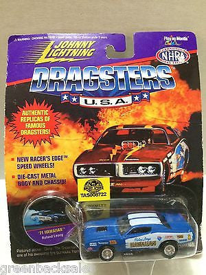 (TAS008722) - Johnny Lightning Dragsters Car - '71 Hawaiian, , Trucks & Cars, Johnny Lightning, The Angry Spider Vintage Toys & Collectibles Store