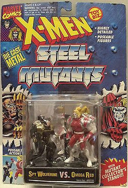 (TAS000818) - Marvel Comics X-Men Steel Mutants - Spy Wolverine vs Omega Red, , Action Figure, X-Men, The Angry Spider Vintage Toys & Collectibles Store
