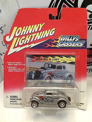 (TAS004225) - Johnny Lightning Willys Gassers - Wild Bill & Cody, , Cars, Johnny Lightning, The Angry Spider Vintage Toys & Collectibles Store