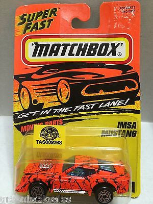 (TAS009268) - Matchbox Cars - IMSA Mustang, , Cars, Matchbox, The Angry Spider Vintage Toys & Collectibles Store