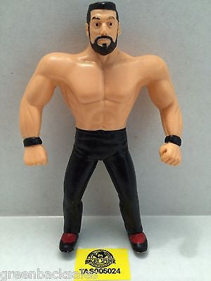 (TAS005024) - WWE WWF WCW nWo Wrestling Bend-Ems Action Figure - Steve Blackman, , Sports, Varies, The Angry Spider Vintage Toys & Collectibles Store