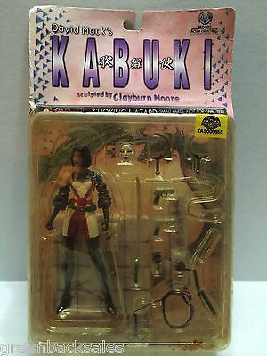(TAS008655) - Moore Action Collectibles - David Mack's Kabuki Action Figure, , Action Figure, n/a, The Angry Spider Vintage Toys & Collectibles Store