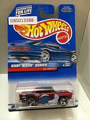 (TAS030927) - Hot Wheels Surf 'N Series '55 Chevy 3/4, , Cars, Hot Wheels, The Angry Spider Vintage Toys & Collectibles Store