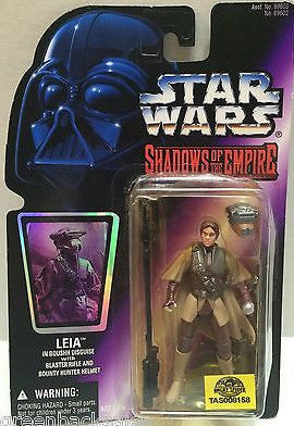 (TAS008158) - Hasbro Star Wars Shadows of the Empire Action Figure - Leia, , Action Figure, Star Wars, The Angry Spider Vintage Toys & Collectibles Store
