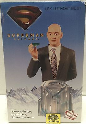 (TAS010769) - Superman Returns Lex Luther Bust, , TV, Movie & Video Games, n/a, The Angry Spider Vintage Toys & Collectibles Store  - 1