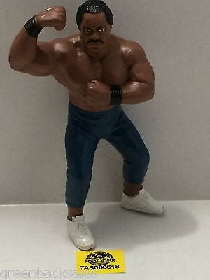 (TAS006618) - WWE WWF WCW nWo Wrestling Galoob Action Figure - Ron Simmons, , Sports, Varies, The Angry Spider Vintage Toys & Collectibles Store