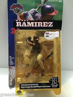 (TAS006586) - Big League Challenge - Manny Ramirez, , Action Figure, MLB, The Angry Spider Vintage Toys & Collectibles Store
