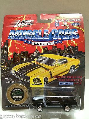 (TAS008855) -  Johnny Lightning Die-Cast Muscle Car City Limits - 1970 Boss 302, , Trucks & Cars, Johnny Lightning, The Angry Spider Vintage Toys & Collectibles Store