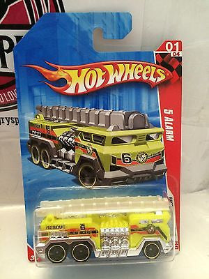 (TAS004732) - Hot Wheels Race World City '10 - 5 Alarm 01/04, , Cars, Hot Wheels, The Angry Spider Vintage Toys & Collectibles Store