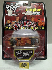 (TAS008644) - WWE WWF Similar Device Fast Action Mini Skateboard - The Rock, , Action Figure, Wrestling, The Angry Spider Vintage Toys & Collectibles Store