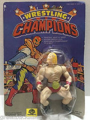 (TAS008153) - Wrestling Champions Generic Blonde Wrestler, , Action Figure, Wrestling, The Angry Spider Vintage Toys & Collectibles Store