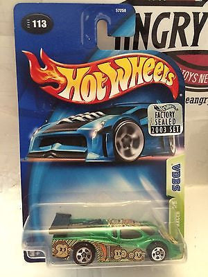 (TAS004410) - Hot Wheels GT Racer 4/5 Sega - Collector #13, , Cars, Hot Wheels, The Angry Spider Vintage Toys & Collectibles Store