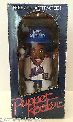 (TAS008781) - 1989 MLB Puppet Kooler New York Mets - Darryl Strawberry #18, , Drinkware, MLB, The Angry Spider Vintage Toys & Collectibles Store  - 1