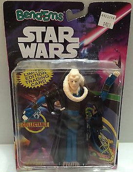 (TAS000458) - Star Wars Bend-ems JusToys - Bib Fortuna, , Action Figure, Star Wars, The Angry Spider Vintage Toys & Collectibles Store