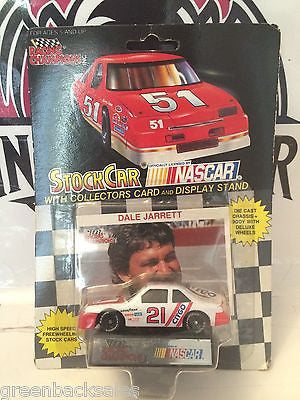 (TAS030481) - 1991 Racing Champions StockCar Die-Cast - Dale Jarrett #21, , Trucks & Cars, NASCAR, The Angry Spider Vintage Toys & Collectibles Store
