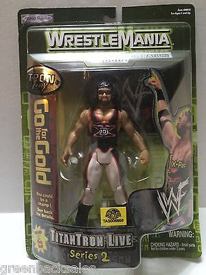 (TAS006656) - 2000 Jakks WWE WWF WrestleMania Series 2 Figure - X-Pac, , Action Figure, Wrestling, The Angry Spider Vintage Toys & Collectibles Store