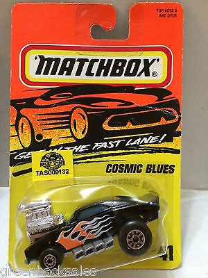 (TAS009132) - Matchbox Die-Cast Cars - Cosmic Blues, , Cars, Matchbox, The Angry Spider Vintage Toys & Collectibles Store