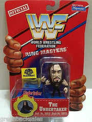 (TAS006592) - WWE WWF WCW nWo Wrestling Ring Masters Stand - The Undertaker, , Action Figure, Wrestling, The Angry Spider Vintage Toys & Collectibles Store