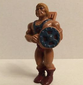 (TAS031313) - MOTU - Masters of the Universe He Man Clip-On Figure, , Action Figure, MOTU, The Angry Spider Vintage Toys & Collectibles Store