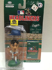 (TAS008264) - MLB NBA NFL NHL Headliners Sports Figure - Hideo Nomo, , Action Figure, NFL, The Angry Spider Vintage Toys & Collectibles Store