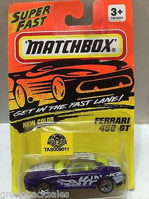 (TAS009011) - Matchbox Die-Cast Cars - Ferrari 456 GT, , Cars, Matchbox, The Angry Spider Vintage Toys & Collectibles Store