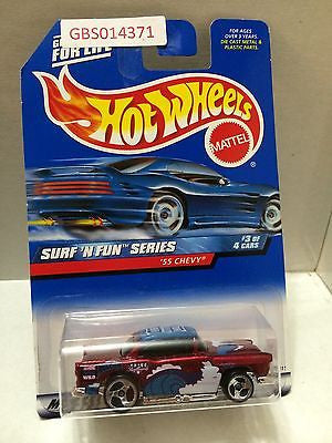 (TAS030982) - Mattel Hot Wheels Car - '55 Chevy, , Cars, Hot Wheels, The Angry Spider Vintage Toys & Collectibles Store