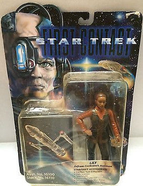 (TAS004074) - Playmates - Star Trek First Contact - Lily, , Action Figure, Star Trek, The Angry Spider Vintage Toys & Collectibles Store