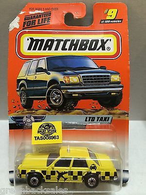 (TAS008963) - Matchbox Cars - LTD Taxi, , Cars, Matchbox, The Angry Spider Vintage Toys & Collectibles Store