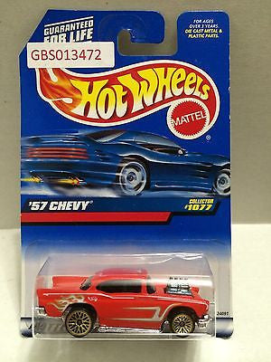 (TAS030947) - Hot Wheels '57 Chevy - Collector #1077, , Cars, Hot Wheels, The Angry Spider Vintage Toys & Collectibles Store