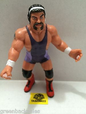 (TAS006522) - WWE WWF WCW nWo Wrestling Galoobs Action Figure - Rick Steiner, , Action Figure, Wrestling, The Angry Spider Vintage Toys & Collectibles Store