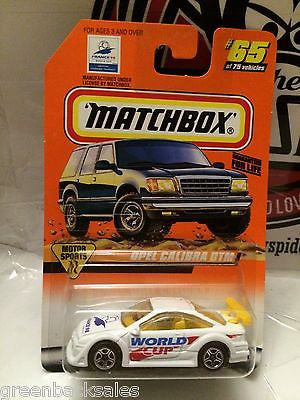 (TAS031518) - Matchbox Die-Cast Toy Car - Opel Calibra DTM #65, , Cars, Matchbox, The Angry Spider Vintage Toys & Collectibles Store