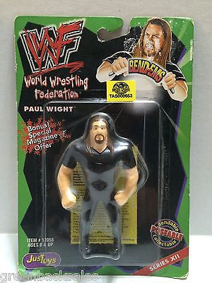(TAS008653) - WWF WWE WCW nWo Wrestling JusToys Bend-Ems Figure - Paul Wight, , Action Figure, Wrestling, The Angry Spider Vintage Toys & Collectibles Store