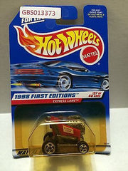 (TAS030920) - Hot Wheels 1998 First Editions Express Lane 37/40, , Cars, Hot Wheels, The Angry Spider Vintage Toys & Collectibles Store