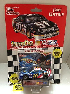 (TAS004479) - Racing Champions StockCar Nascar - Ted Musgrave #16, , Other, Varies, The Angry Spider Vintage Toys & Collectibles Store