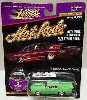 (TAS031553) - Playing Mantis Johnny Lightning Hot Rods Car - Goin' Goat, , Trucks & Cars, Johnny Lightning, The Angry Spider Vintage Toys & Collectibles Store
