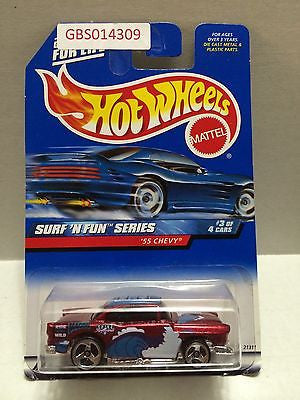 (TAS030965) - Hot Wheels Surf 'N Fun Series '55 Chevy 3/4, , Cars, Hot Wheels, The Angry Spider Vintage Toys & Collectibles Store