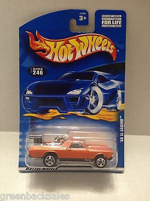 (TAS010413) - 2000 Mattel Hot Wheels Die Cast Replica - '68 Camino, , Trucks & Cars, Hot Wheels, The Angry Spider Vintage Toys & Collectibles Store  - 1
