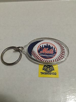 (TAS003132) - MLB Baseball Key Chain - New York Mets, , Key Chain, MLB, The Angry Spider Vintage Toys & Collectibles Store